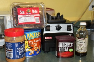 Ingredients for Peanut Date Balls